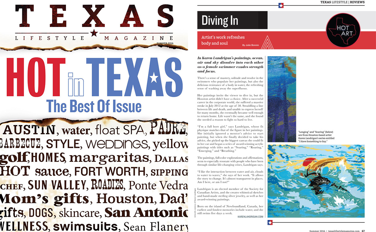 Texas Lifestyle Magazine – Summer 2016